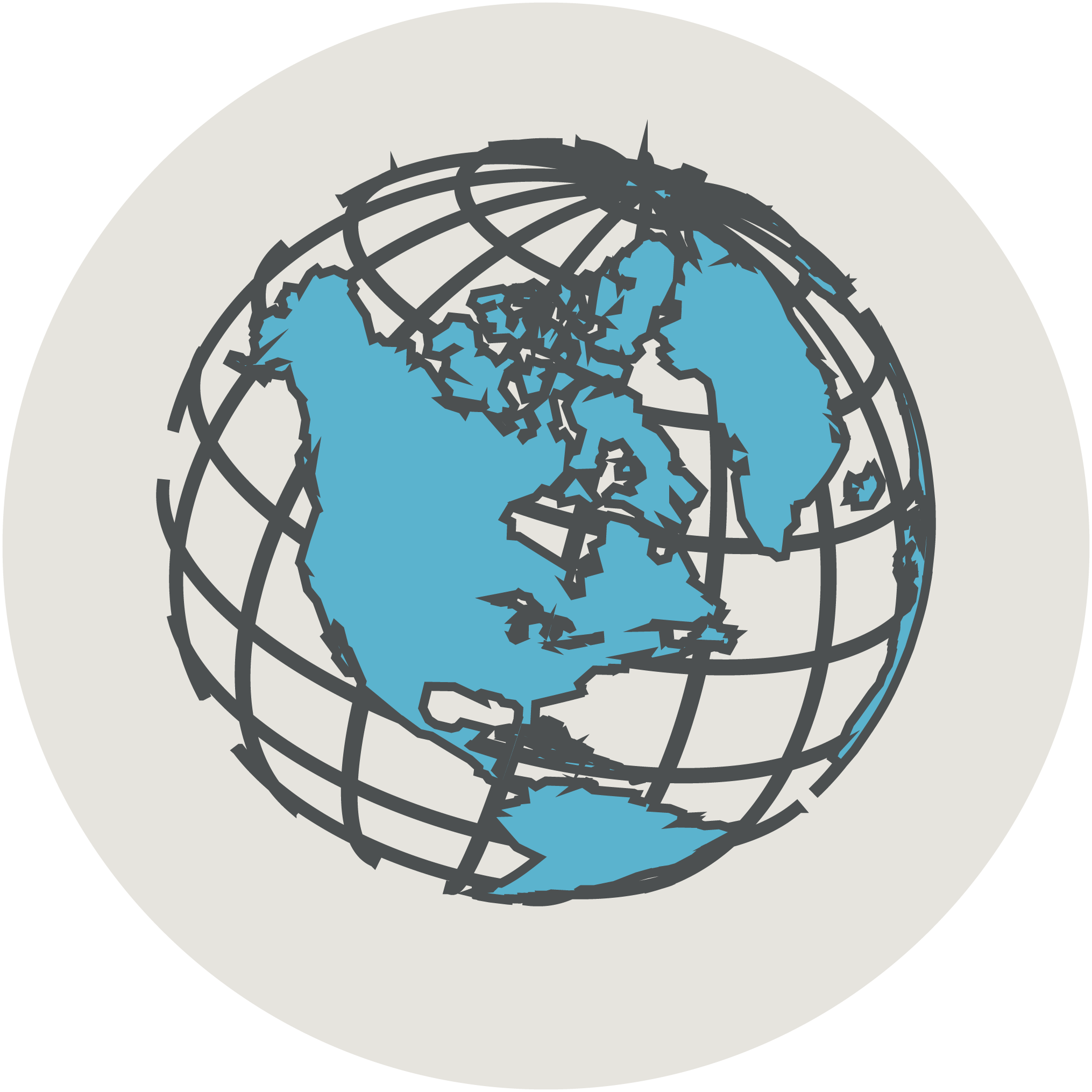 International solidarity icon