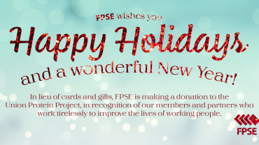 Happy holidays from FPSE