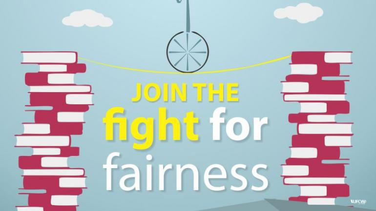 Join the fight for fairness