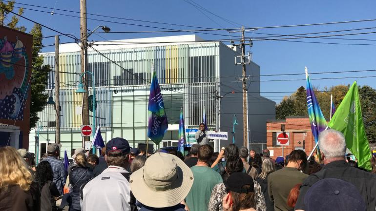 Photo of OPSEU Solidarity Rally